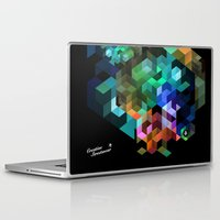 tetris Laptop & iPad Skins featuring TETRIS by Creative Streetwear