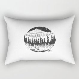Your True Colours Are None At All Rectangular Pillow