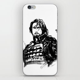 the last samurai iPhone Skin