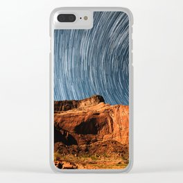 Stars on the Cliffside Clear iPhone Case