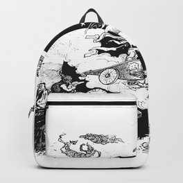 Moon carriage Backpack