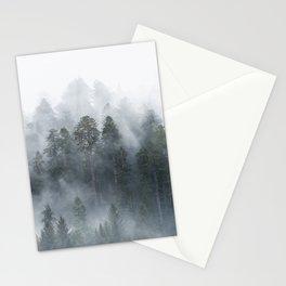Redwood National Park Forest Fog Stationery Cards
