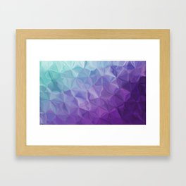 Abstract painting color texture Framed Art Print