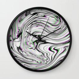 Liquid Marble Wall Clock