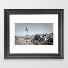inhale andaluz Framed Art Print