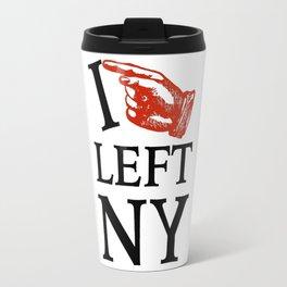 I Left NY Travel Mug