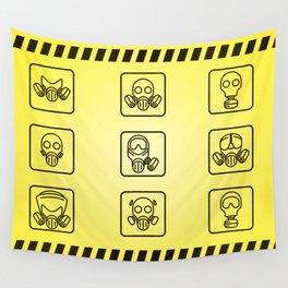 Danger Wall Tapestry
