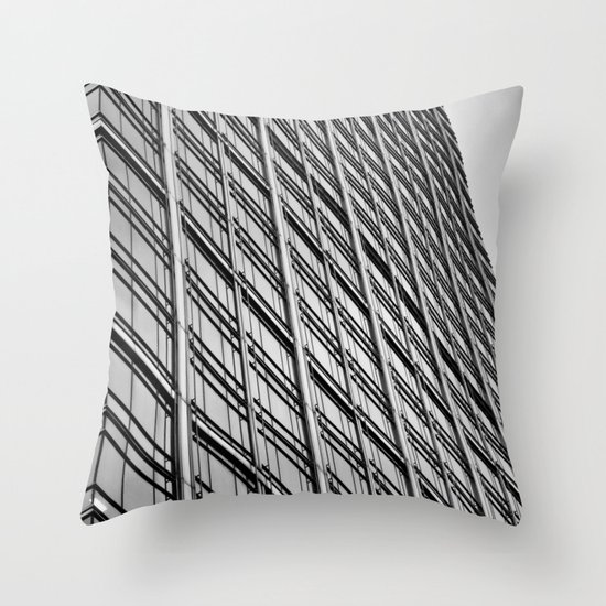 Skyscraper Abstract Throw Pillow