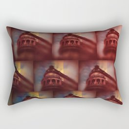 Shapes of the Old City - Oporto Rectangular Pillow
