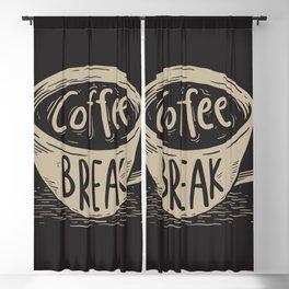 Coffe Break Blackout Curtain