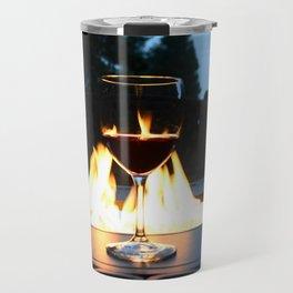 Fireside Wine I Travel Mug