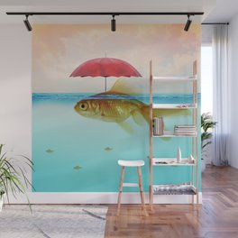 Under Cover Goldfish Wall Mural