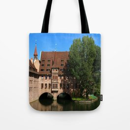 Old Architecture  Nuremberg Tote Bag
