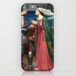 John William Waterhouse - Tristan and Isolde iPhone Case