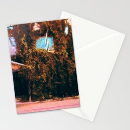 Autumn old town Stationery Cards