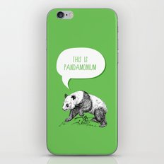 Panda Pun iPhone & iPod Skin
