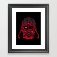 Monster Vader Framed Art Print