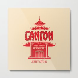 The Canton Chinese-American Restaurant Metal Print