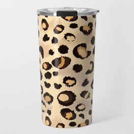 leopard skin print design Travel Mug