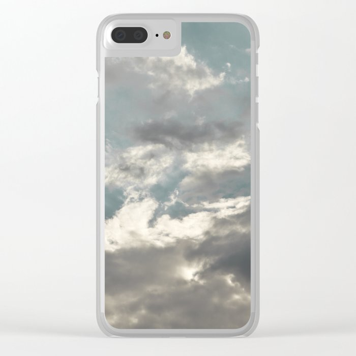 heaven and freedom Clear iPhone Case