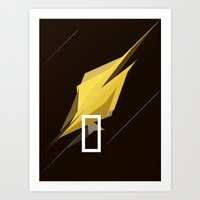 pocket fuel Art Prints featuring FUEL by Pedro A Ribeiro