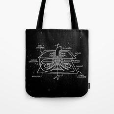 Cosmic Wormhole Tote Bag