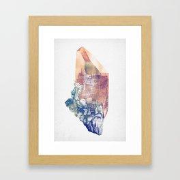 Byzantium Crystal City Framed Art Print