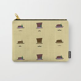 Hats & Moustaches Carry-All Pouch