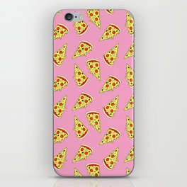 Pizza Pattern By Everett Co iPhone Skin