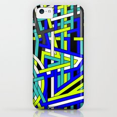 Bright Weaved Geometric iPhone 5c Slim Case