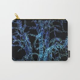 lights tree at christmas Carry-All Pouch