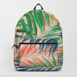 Palm Leaves in color Backpack