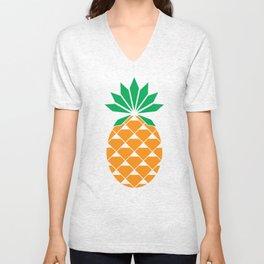Diamond Pineapple Unisex V-Neck
