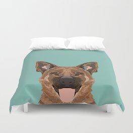 Skylar - German Shepherd gifts for dog people dog lover gifts german shepherd owners perfect gifts Duvet Cover