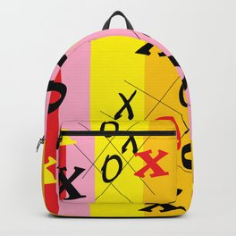 X's and O's Backpack