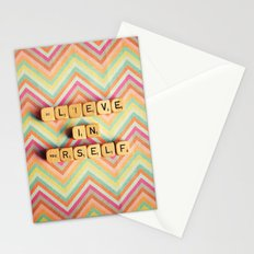 Believe in Yourself. Be You. Stationery Cards