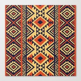 American Native Pattern No. 159 Canvas Print