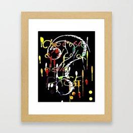 Che cosa è il colore della pace? Framed Art Print