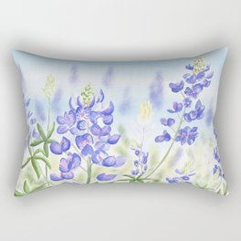 Bluebonnet Rectangular Pillow