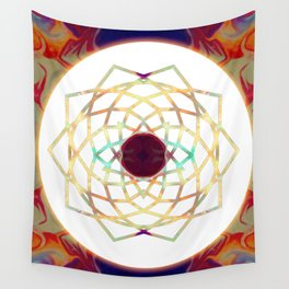 1000 Petalled Lotus Abstract Chakra Art Wall Tapestry