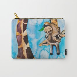 friendly giraffe Carry-All Pouch