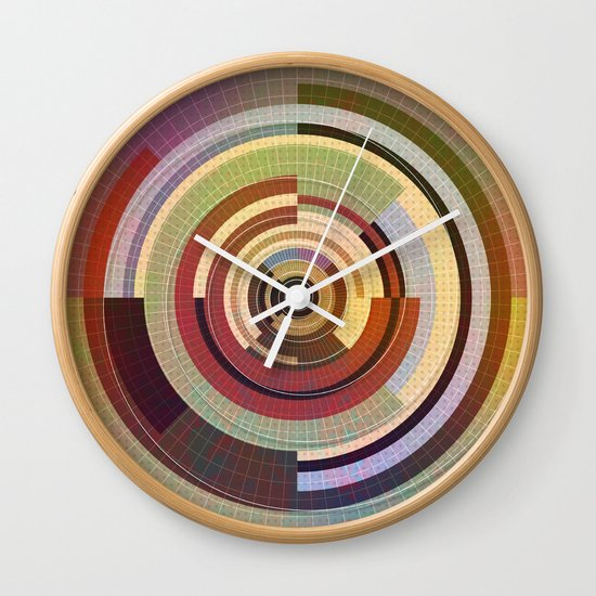Circles design Wall Clock