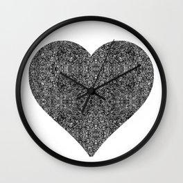 heart maze Wall Clock