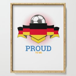 Football German Germany Soccer Team Sports Footballer Goalie Rugby Gift Serving Tray