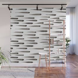Brush Marks Wall Mural