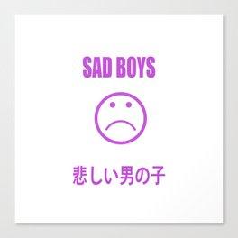sad noys Canvas Print