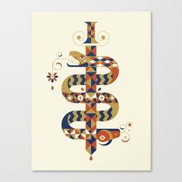 Kingdom's Tale - I. Serve The Serpents Canvas Print