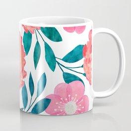 Pink, orange flowers. Coffee Mug