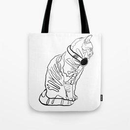 Kitten Jams Tote Bag