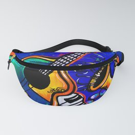 Carnival Jazz Painting Fanny Pack